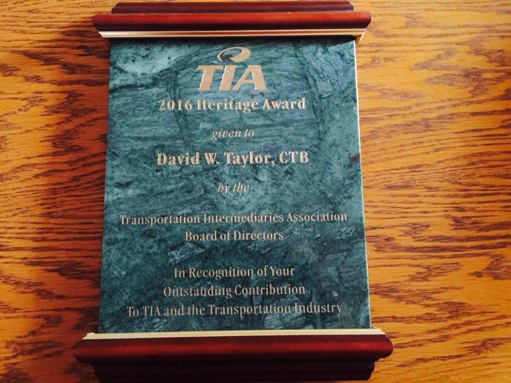 TIA 2016 Heritage Award